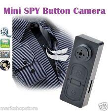 Mini Spy Button HD Video Recorder Hidden Pinhole Camera Camcorder 1280 X 960p