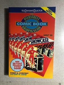 ROBERT OVERSTREET COMIC BOOK GRADING GUIDE (1992) softcover illustrated 1st
