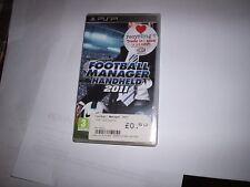 SONY PSP, FOORBALL MANAGER HANDHELD 2011