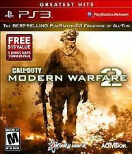 Call of Duty: Modern Warfare 2 -- Greatest Hits (Sony PlayStation 3, 2013)