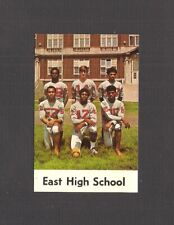 POCKET FOOTBALL SCHEDULE - 1970 EAST HIGH SCHOOL, ERIE, PENNSYLVANIA