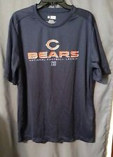 NFL TEAM APPAREL LARGE POLYESTER CHICAGO BEARS FOOTBALL JERSEY SHIRT