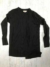 LOFT Women's Black Open Front Cardigan Sweater Size Small