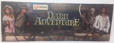 "Dark Adventure Arcade Marquee (22"" 3/4 x  8"" 1/4) Flexi"