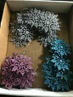 Lot of Colorful Snowflakes Christmas Ornament's