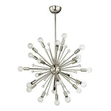 Savoy House Galea 24 Light Chandelier, Polished Nickel - 7-6099-24-109
