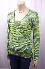 Gestreifte feine Damen-Pullover & -Strickware im Twinsets-Stil mit Rundhals