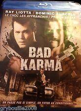 "BLU RAY ""BAD KARMA"" (UN PASSE PAS SI SIMPLE, UN FUTUR AU CONDITIONNEL !) NEUF"