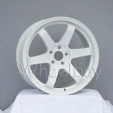 4 ROTA WHEEL GRID  18X9.5  5X114.3 20 WHITE EVO