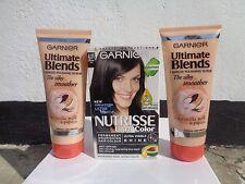 Garnier ultimate blends 1 minute polishing scrub(X2)+ Garnier 4.11 sapphire blue
