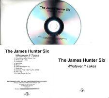 THE JAMES HUNTER SIX Whatever It Takes 2018 UK 10-trk promo test CD