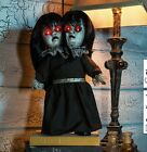 Halloween Prop Animated Evil Twins With Sound & Light Up Eyes (pc) j25