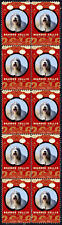 BEARDED COLLIE YEAR OF THE DOG 2018 STRIP OF 10 MINT STAMPS