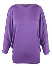 L Ralph Lauren Petite Cutout Shoulder Shirt Lilac Purple
