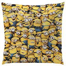 Cti - les Minions Coussin Polyester Jaune/gris 40 x 40 cm