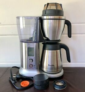 Breville Precision Brewer Thermal Coffee Maker, Stainless Steel + Pour over