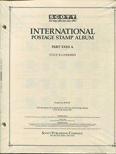 Scott National Postage Stamp Album #23A 1987 US - Korea Supplement 384 PAGES