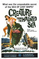 G2655 Creature From Haunted Sea Antony Carbone Movie VHS Laminated Poster FR