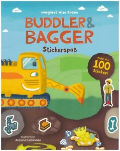 Buddler & Bagger - Stickerspaß von Margaret Wise Brown (2015, Taschenbuch)