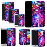hard back case cover for Various Popular Mobile phones -Cosmic Design