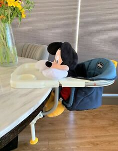 Chicco 360 Hook-On High Chair Micky mouse not for sale