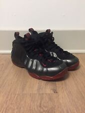 c12fc463616 Nike Air Foamposite One Bred Cough Drop Black Red Size 11
