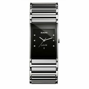 Rado R20784759 Men's Integral Jubilee  Black Quartz Watch