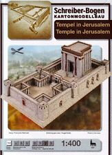 Schreiber-Bogen Kartonmodellbau Tempel in Jerusalem