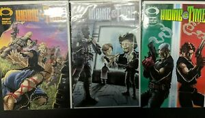 Hiding in Time #1,2 & 3 Complete Run Set (2007 Image Comic) TV Adaptation Coming