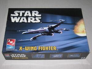 Star Wars X-Wing Fighter Model Kit - Unassembled - 2005 - Boxed - ERTL