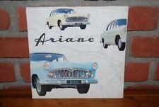 CATALOGUE BROCHURE SIMCA ARIANE 1958