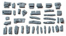 1/72 scale 72002 Tents, Tarps & Crates #2 (37 Pieces) Military model stowage