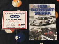 Biante 1:18 1988 Allan Moffat ANZ Bathurst Ford Sierra COA Brochure ONLY