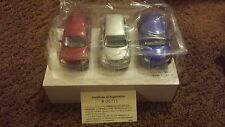3 PT Cruisers 1/38th Scale w/ Certificate of Registration