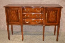 Early 1900s Solid Cherry Server Sideboard Buffet Console 8853 SHIPPING NOT INCLUDED Please ask for shipping quote