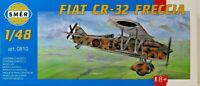 SMER FIAT CR-32,Italien,Doppeldecker-Jagdflugzeug, Bausatz 1:48,0810,OVP,NEU