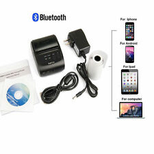 58mm Mini Portable Bluetooth 4.0 Wireless Receipt Thermal Printer for Android YS