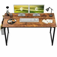 "CubiCubi Computer Desk 63"" Study Writing Table for Home Office, Modern Simple St"