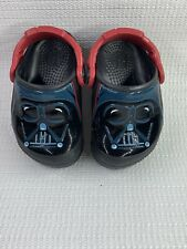 Crocs Star Wars Darth Vader - Toddler 4 Preowned - Never Worn