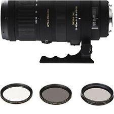Sigma AF 120-400mm f/4.5-5.6 APO HSM DG OS Zoom Lens for Nikon -New Open Box-Kit