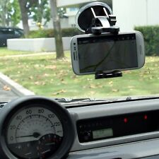 For Samsung Galaxy Note 4 / 3 Car Cradle Mount Holder Short Neck Suction Window