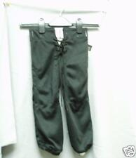 Youth Practice Football Pants Slotted Black Medium M NEW