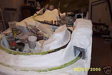 12 Rolls Hobby Plaster Cloth, Model R/R Scenery, crafts