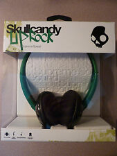 Skullcandy Uprock Rasta Red Green Yellow Head Phones