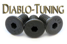 Kahler - Guitar Locking Nut / String Clamp Screws - Qty 3 - BLACK Alloy Ste