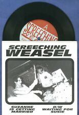 "Screeching Weasel ""Suzanne is Getting"" 7"" Ben Riverdales Queers The Lillingtons"