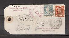 USA #515 #516 Used On Bank Tag
