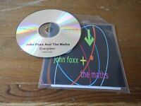 John Foxx & The Maths - evergreen  radio edit promo