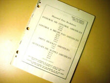 Hamilton Standard Accessories & Assemblies Parts Manual