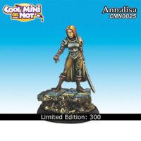 Cool Mini Or Not: AnnaLisa, Female Warrior - CMN0025